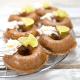 Donuts mit karamellisierten Limetten als Topping