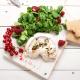 Gebackener Ziegenkäse mit frischem Feldsalat und knusprigem LEICHT&CROSS