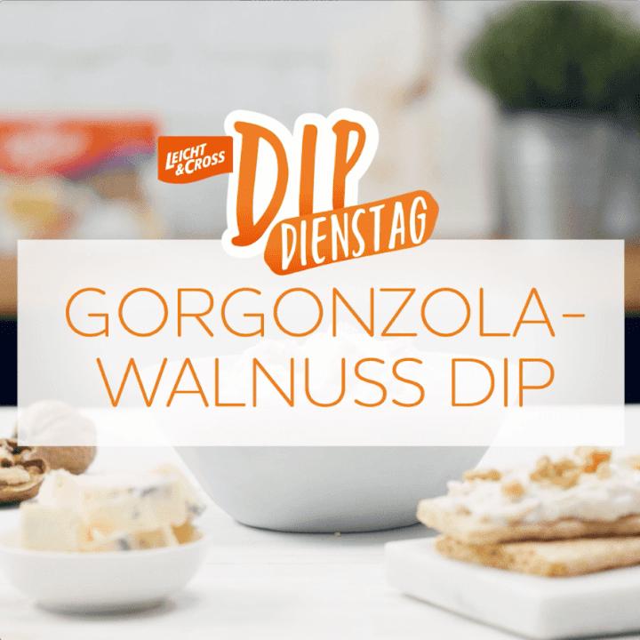 Zubereitungsvideo Gorgonzola-Walnuss-Dip mit LEICHT&CROSS