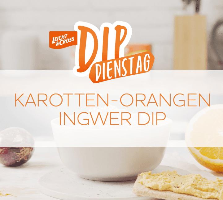 Zubereitungsvideo Karotte-Orange-Ingwer Dip