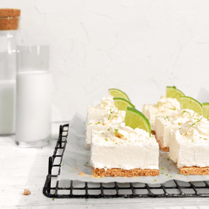 No Bake LEICHT&CROSS Bites mit Kokos und Limette