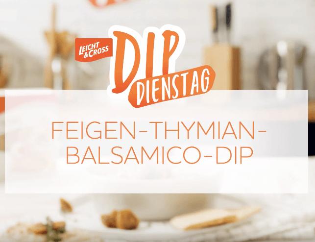 Zubereitungsvideo Feigen-Thymian-Balsamico-Dip